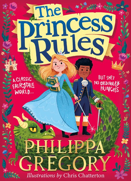 The Princess Rules UK Cover